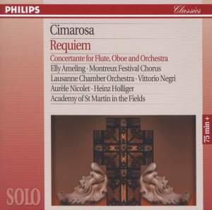 Cimarosa: Requiem & Concertante for Flute, Oboe & Orchestra