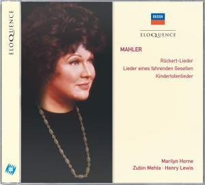 Marilyn Horne sings Mahler
