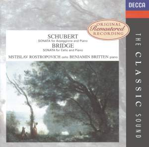 Schubert & Bridge: Cello Sonatas