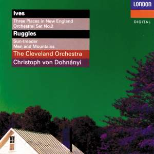 Ives: 3 Places In New England & Orchestral Set No. 2