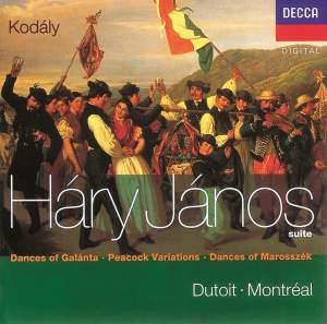 Kodály: Háry János Suite, Dances of Marosszék and other works