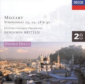 Mozart: Symphonies Nos. 25, 29, 38, 40 & 6