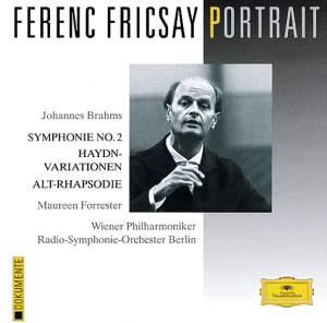 Brahms: Symphony No. 2, Haydn Variations & Alto Rhapsody