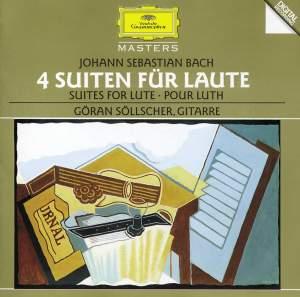 Bach, J S: Lute Suites Nos. 1-4, BWV995-997 & 1006a