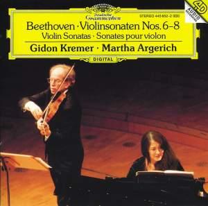 Beethoven: Violin Sonata Nos. 6 - 8