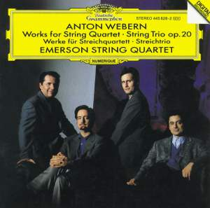 Webern: Works for String Quartet & String Trio