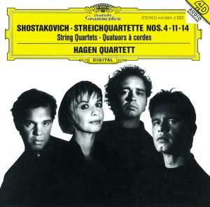 Shostakovich: String Quartets Nos. 4, 11 & 14