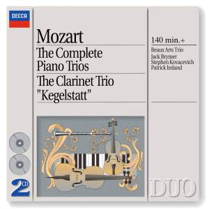 Mozart - The Complete Piano Trios & Clarinet Trio