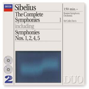 Sibelius - The Complete Symphonies, Volume 1