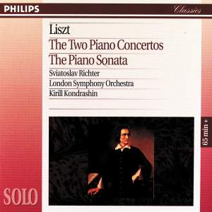 Liszt: The Two Piano Concertos & The Piano Sonata Product Image