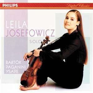 Leila Josefowicz: Solo