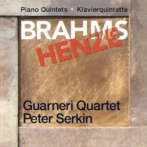 Brahms & Henze: Piano Quintets