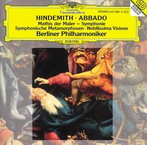 Hindemith: Symphony 'Mathis der Maler', etc.