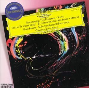 Igor Stravinsky : The Firebird Suite - Manuel de Falla : El Amor Brujo - El Sombrero De Tres Picos