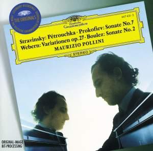 Maurizio Pollini plays Prokofiev, Boulez, Webern and Stravinsky