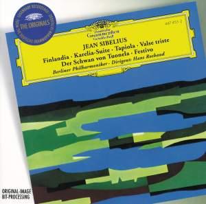 Sibelius: Finlandia, Karelia Suite, Tapiola, Valse triste & other orchestral works