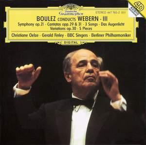 Boulez conducts Webern III