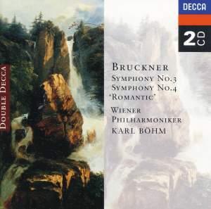 Bruckner: Symphonies Nos. 3 & 4 Product Image