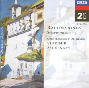 Rachmaninov: Symphonies Nos. 1-3 (complete)