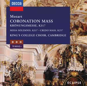 Mozart: Coronation Mass and other works