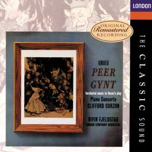 Grieg: Peer Gynt & Piano Concerto Product Image