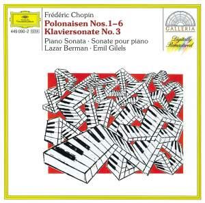 Chopin: Polonaises Nos. 1-6 & Piano Sonata No. 3