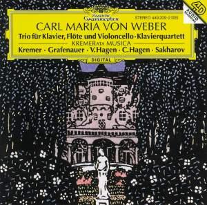 Weber: Piano Trio Op. 63 & Piano Quartet Op. 8