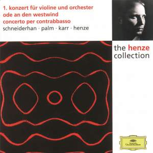 Henze: Violin Concerto No. 1 and other works