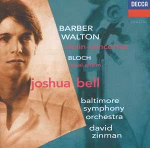 Barber & Walton: Violin Concertos