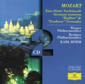 Mozart: Eine kleine Nachtmusik, Serenata Notturna and other serenades