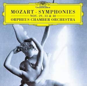 Mozart: Symphonies Nos. 29, 33 & 40