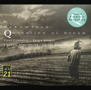 Takemitsu - Quotation of Dream