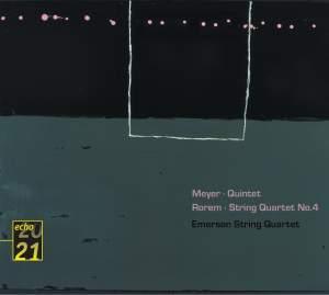 Meyer: String Quintet & Rorem: String Quartet No. 4