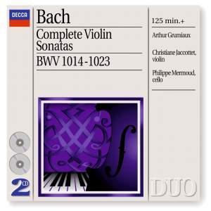 Bach - Complete Violin Sonatas