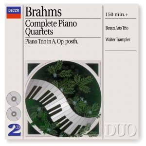 Brahms - Complete Piano Quartets