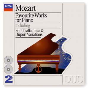 Mozart - Favourite Works for Piano