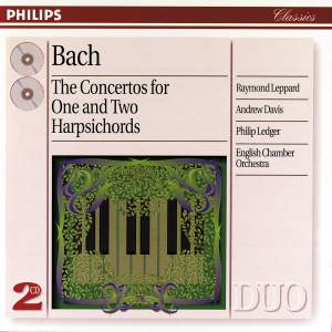 JS Bach: Concertos for one and two harpsichords
