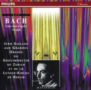 Bach: Concertos after Vivaldi