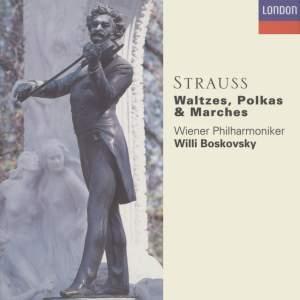 Strauss, J, II: Waltzes, Polkas & Marches