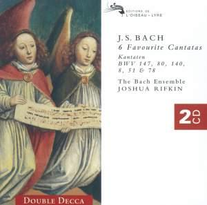 Johann Sebastian Bach - 6 Favourite Cantatas