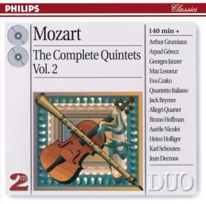 Mozart: Complete Quintets Vol. 2