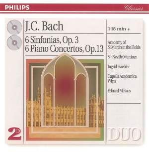 JC Bach: 6 Sinfonias & 6 Piano Concertos