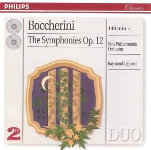 Boccherini: Symphonies (6), Op. 12