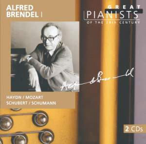 Alfred Brendel - Great Pianists of the 20th Century Vol.12