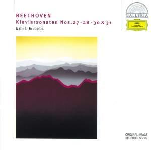 Beethoven: Piano Sonatas Nos. 27, 28, 30 & 31