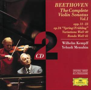 Beethoven - The Complete Violin Sonatas Volume 1