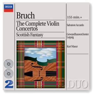 Bruch - The Complete Violin Concertos