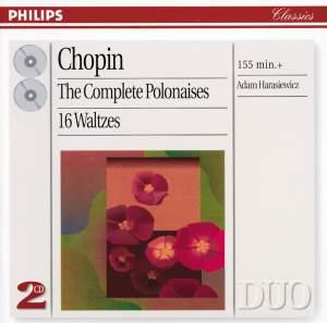Chopin: The Polonaises & 16 Waltzes