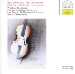 Beethoven: Violin Concerto & Haydn: Sinfonia concertante