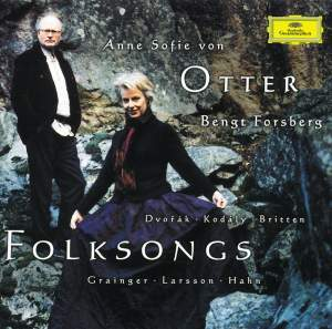 Anne Sofie von Otter - Folksongs Product Image
